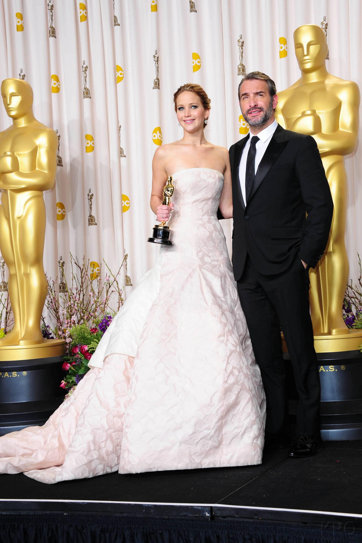 Jennifer Lawrence - L'Après Oscar - La Press Room 028