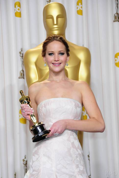 Jennifer Lawrence - L'Après Oscar - La Press Room 033