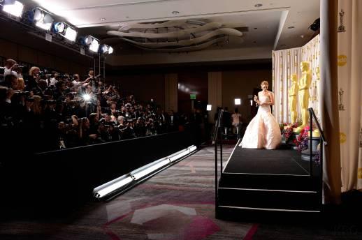 Jennifer Lawrence - L'Après Oscar - La Press Room 035