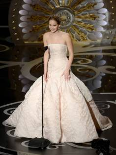 Jennifer Lawrence - Meilleure Actrice Pour Hapiness Therapy 001
