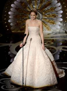 Jennifer Lawrence - Meilleure Actrice Pour Hapiness Therapy 002