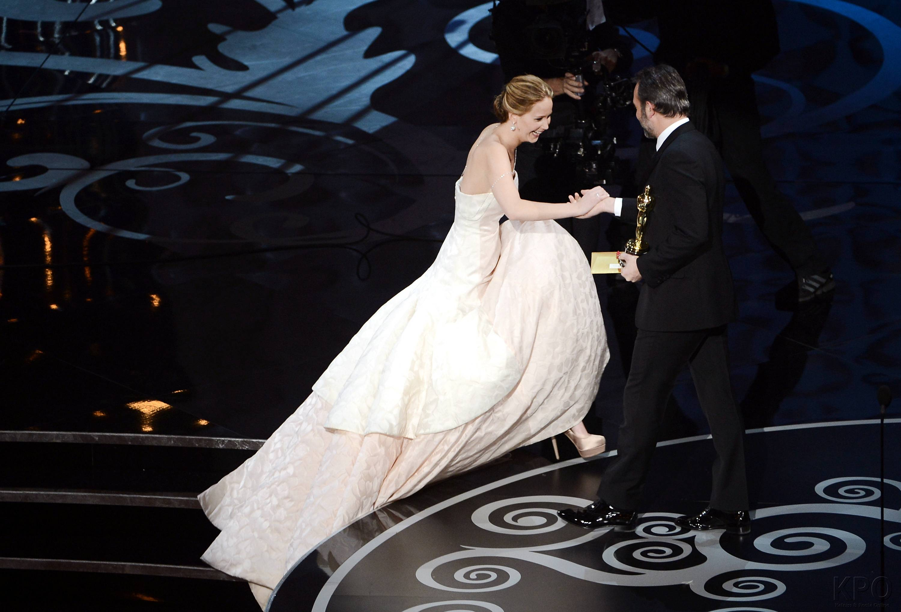 Jennifer Lawrence - Meilleure Actrice Pour Hapiness Therapy 008