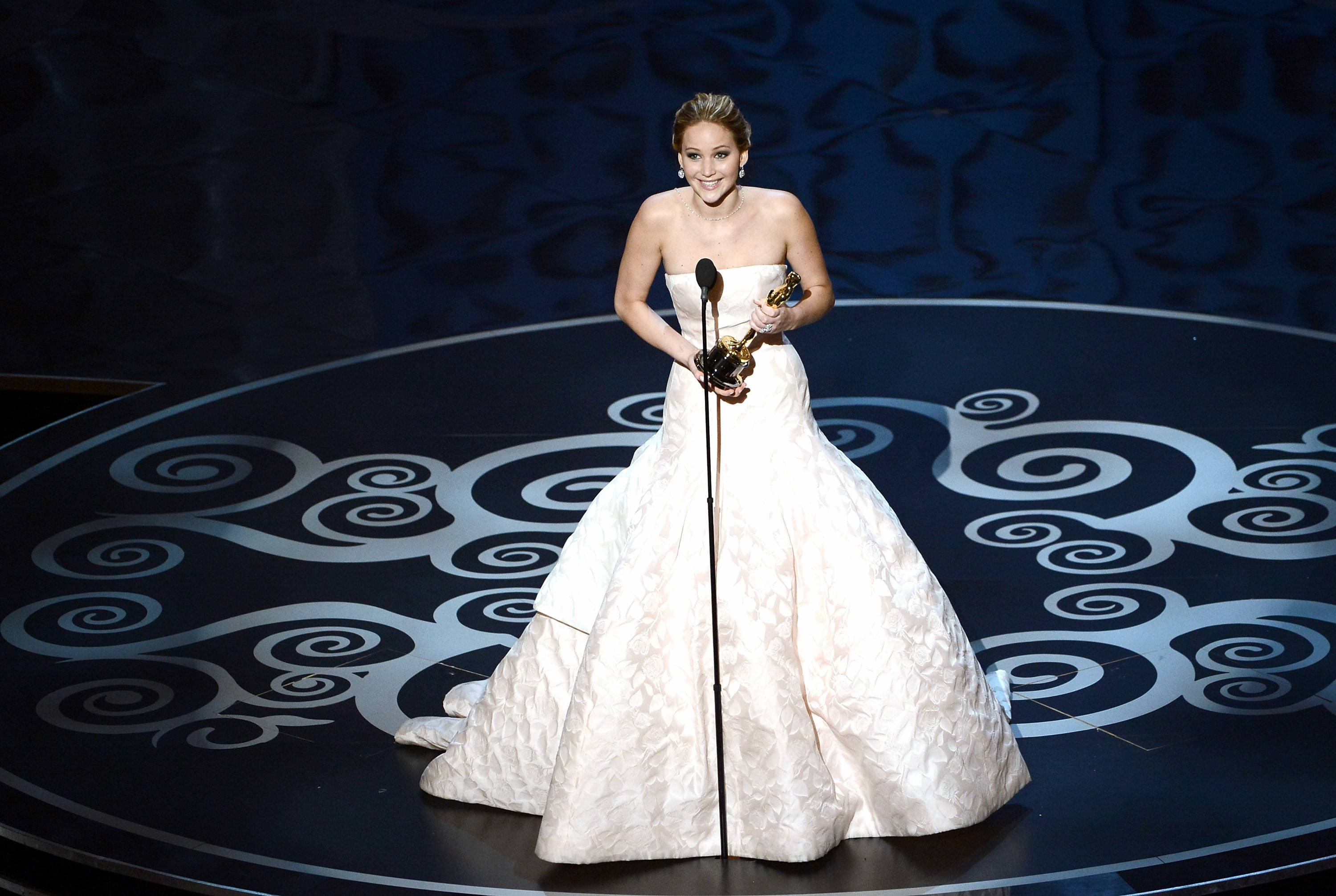 Jennifer Lawrence - Meilleure Actrice Pour Hapiness Therapy 012