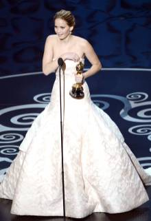 Jennifer Lawrence - Meilleure Actrice Pour Hapiness Therapy 015