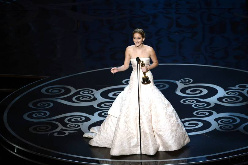 Jennifer Lawrence - Meilleure Actrice Pour Hapiness Therapy 016