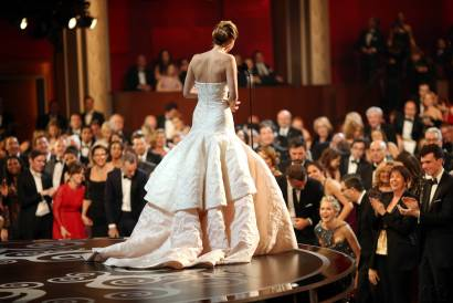 Jennifer Lawrence - Meilleure Actrice Pour Hapiness Therapy 020