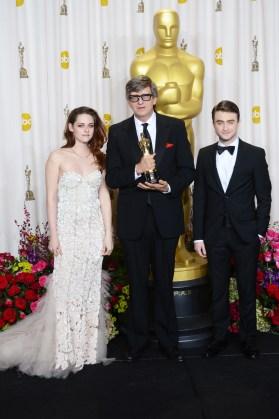 Kristen Stewart à la 85eme cérémonie des Oscars -La Press Room 07
