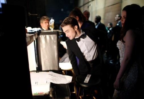 Kristen Stewart à la 85eme cérémonie des Oscars -La Press Room 09