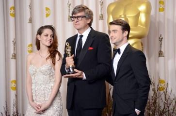 Kristen Stewart à la 85eme cérémonie des Oscars -La Press Room 15