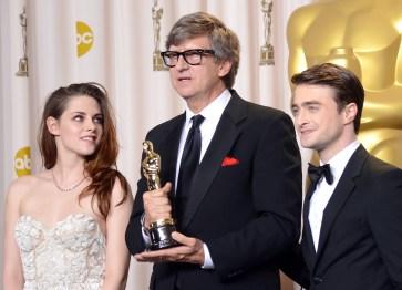 Kristen Stewart à la 85eme cérémonie des Oscars -La Press Room 16