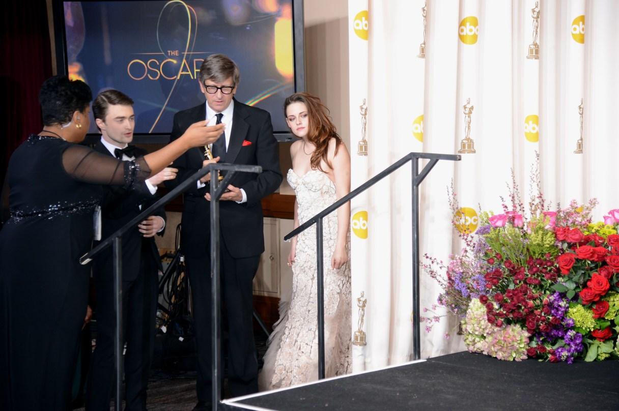 Kristen Stewart à la 85eme cérémonie des Oscars -La Press Room 18