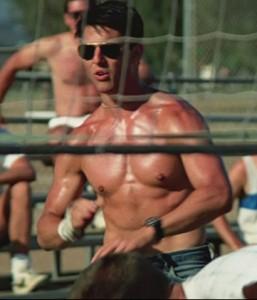 Tom Cruise dans Top Gun