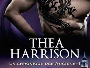 Photo of La Chronique des Anciens Tome 1 : Le Baiser du Dragon de Thea Harrison