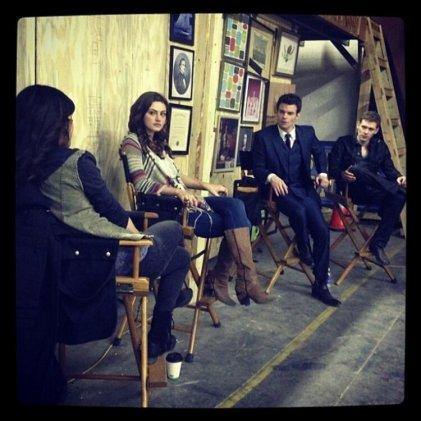 The Originals - 1er jour de production