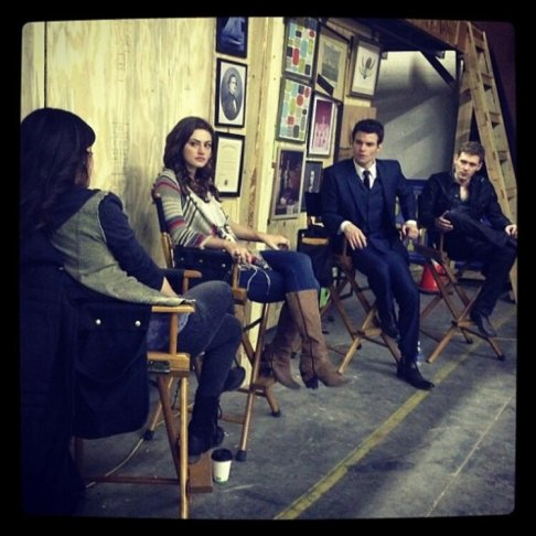 The Originals - 1er jour de production