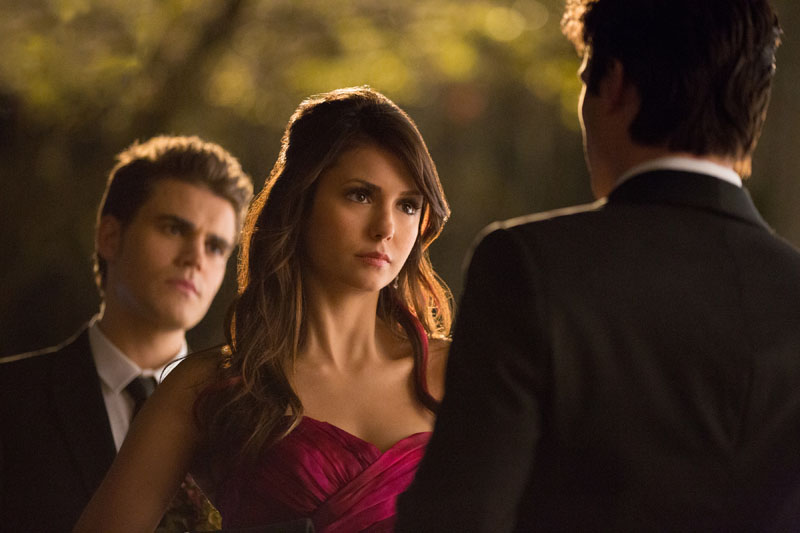 TVD 4x19 Pictures of You - Stefan, Elena&Damon
