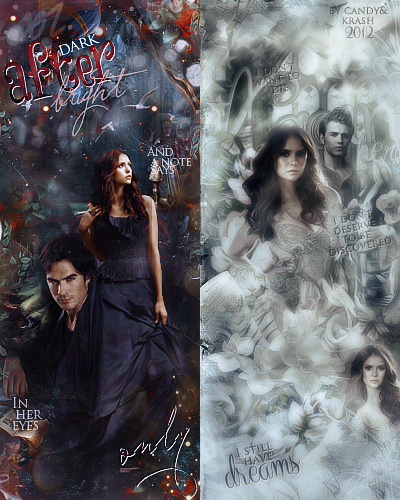 Delena VS Stelena by Krash&Candy