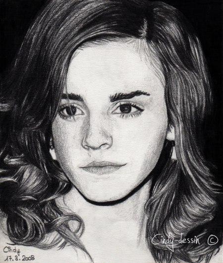 Cindy Dessin Emma Watson