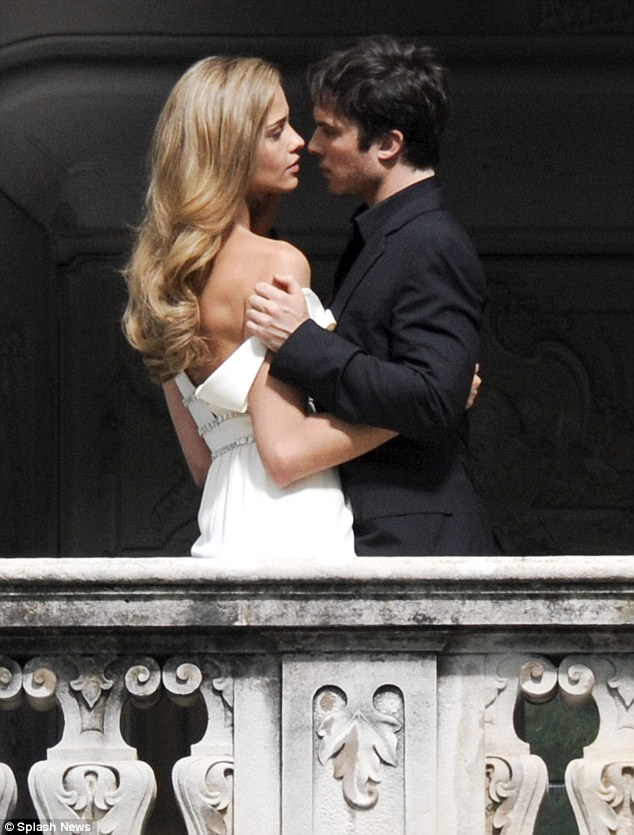 ian somerhalder - shoot parfum azarro