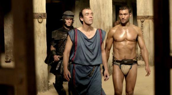 Spartacus et Batiatus - Blodd and Sand