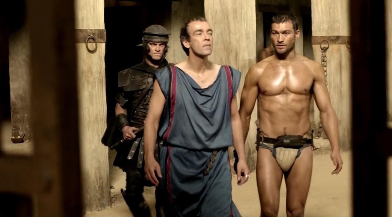 Batiatus et Spartacus