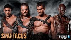Crixus - Gannicus- Spartacus & Oenomaus