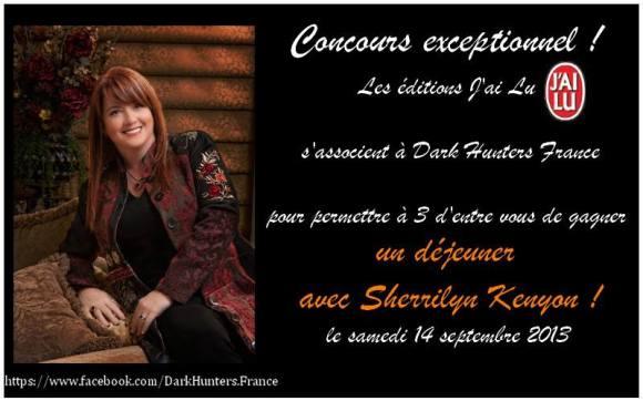 3 Invitations à Gagner Pour déjeuner En Compagnie de Sherrilyn Kenyon