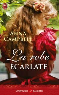 La robe écarlate de Anna Campbell