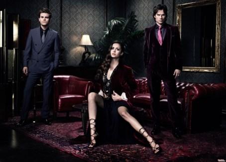 TVD S4 promo Stefan Elena Damon