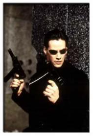 keanu reeves dans Matrix
