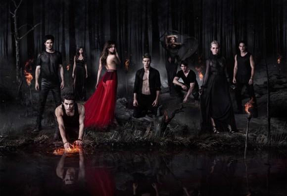 THE VAMPIRE DIARIES Poster Saison 5