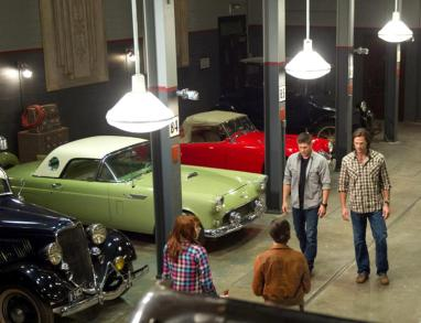 "Supernatural - S09E04 ""Slumber Party"" - Fiche Episode13"