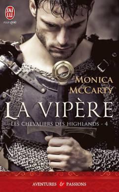Les chevaliers de Highlands T4- La Vipère de Monica McCarty
