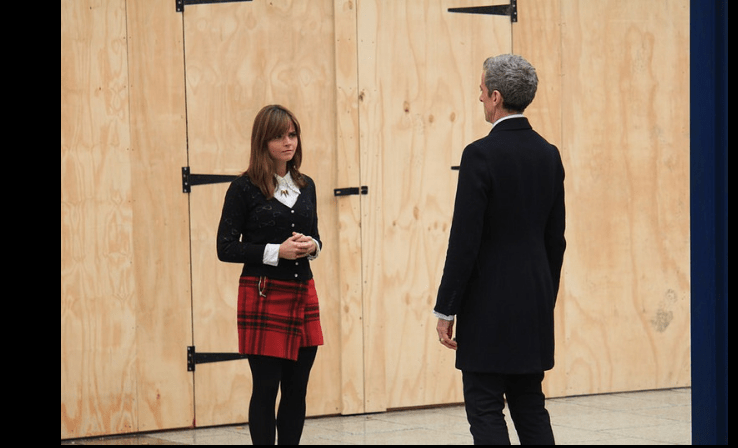 Doctor Who - Peter Capaldi et Jenna-Louise Coleman