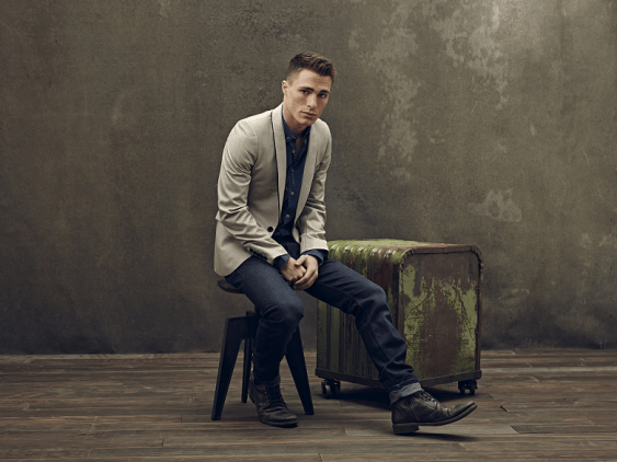 Arrow - Photoshoot - Colton Haynes