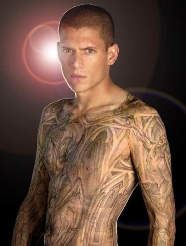 prison break michael tattoo
