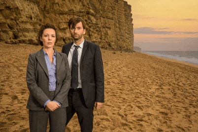 Broadchurch - David Tennant et Olivia Colman 2