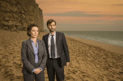 Broadchurch - David Tennant et Olivia Colman 3