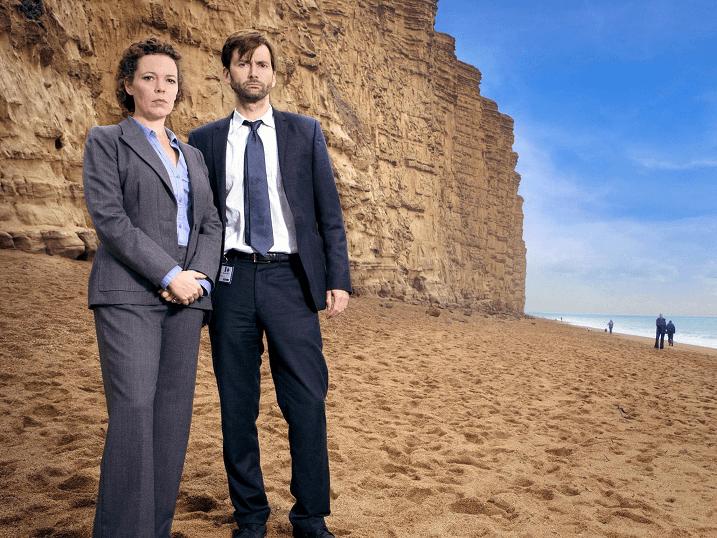 Broadchurch - David Tennant et Olivia Colman 4