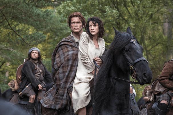 Outlander - Claire Randall et Jamie Fraser