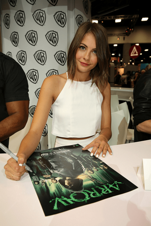 Arrow Comic-Con - Willa Holland