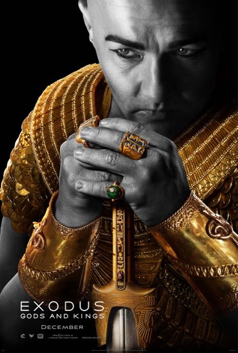 Exodus Gods and Kings poster 3 Ramsès