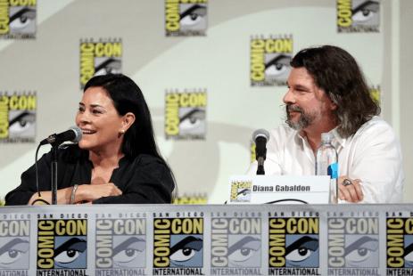 Outlander Comic-Con - Diana Gabaldon et Ronald D. Moore