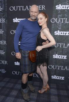 Outlander Premiere - Graham McTavish et Lotte Verbeek