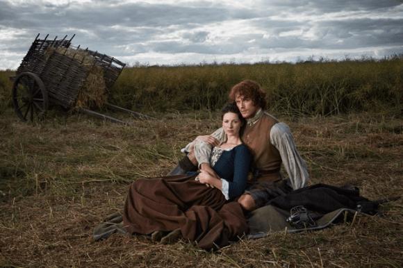 Outlander - Jamie Fraser et Claire Randall 2