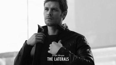 Photo de Joseph Morgan très classe pour The Laterals