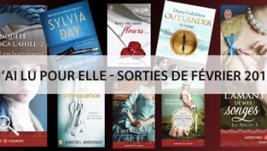 Photo of J'ai Lu Pour Elle : Sorties de Février 2015