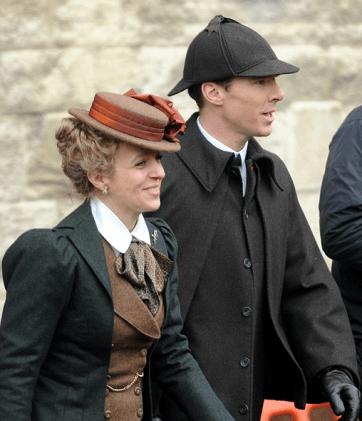 Sherlock Tournage Special Noel 2015