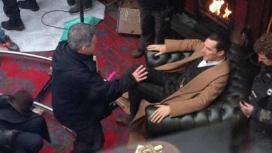 Photo de Sherlock spécial : Nouvelles photos du tournage !