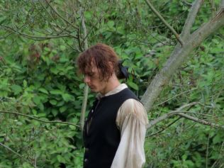outlander s02 tournage jamie